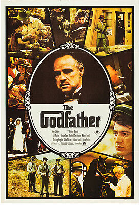 "The Godfather Movie Poster Replica 13x19/"" Photo Print"