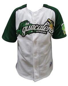 Image is loading Aguacateros-de-Michoacan-White-Baseball-Youth-Jersey-New- c440dfa900b9