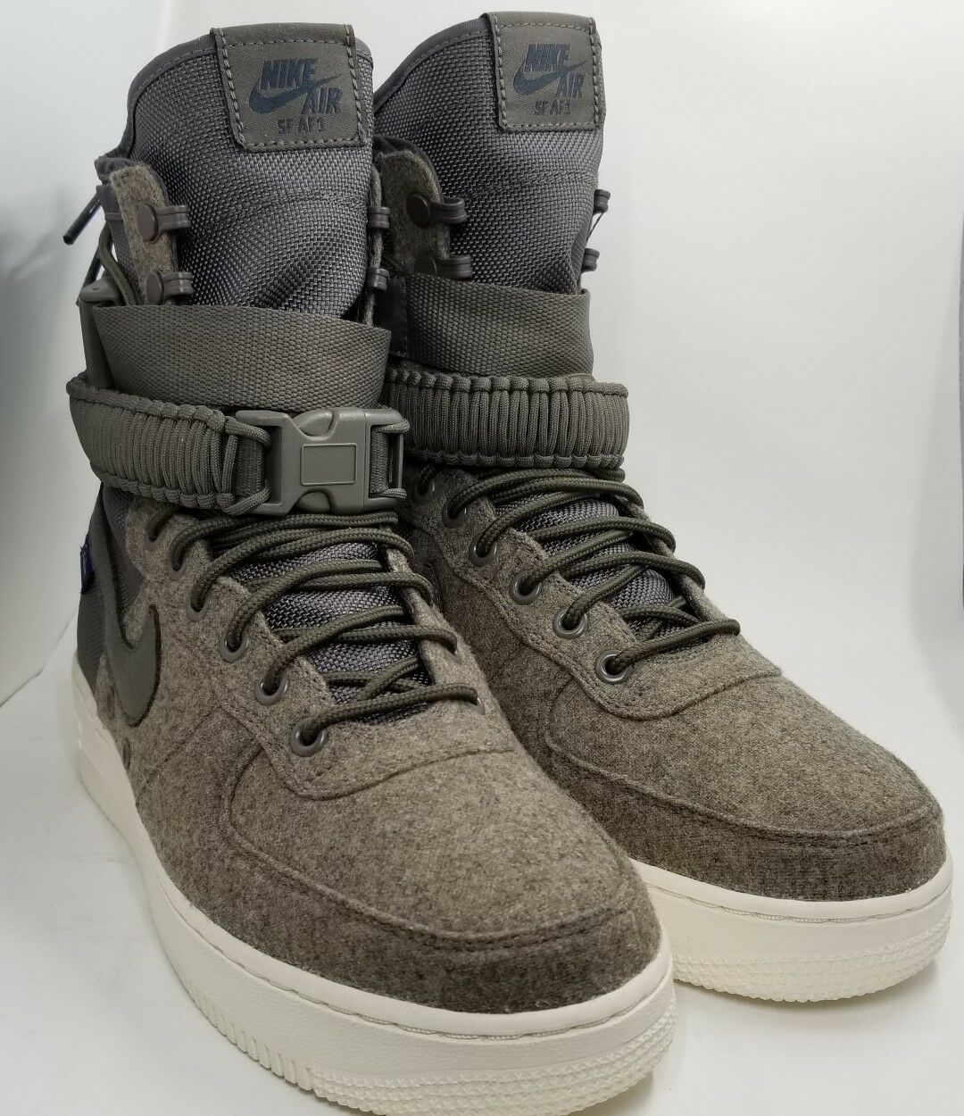 NIKE AIR FORCE 1 SF AF1 PENDLETON  ID  SPECIAL FIELD BOOTS  SIZE 8.5 AO9587-991