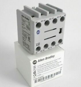 Allen-Bradley 100-FA40 Auxiliary Contact Block, with 4 NO Contact