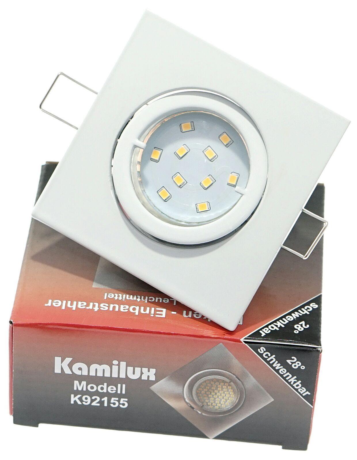 Einbaulampe Louis Weiss GU10 10er SMD Power LED 3W  25W 230V   | Bekannt für seine schöne Qualität  | Eleganter Stil  | Neu