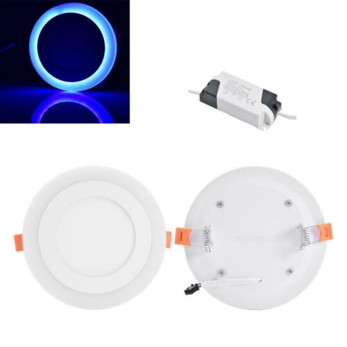 LED Panel Licht Dimmbar RGB Bunt Farbwechsel Deckenleuchte Einbauleuchte Lampe