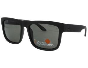 e5ddf01b88 Details about  673036374135  Spy Optics Discord Sunglasses - Matte Black w   Gray Polarized