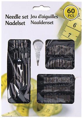 """Stopfnadeln fein Stopfnadeln grob Nähnadeln Nadeln versch /""""/"""" 12-tlg Größen /""""/"""""""