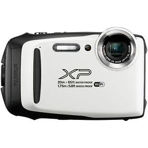 Fujifilm-FinePix-XP130-16-4MP-5x-blanc-etanche-camera-certifie-remis-a-neuf