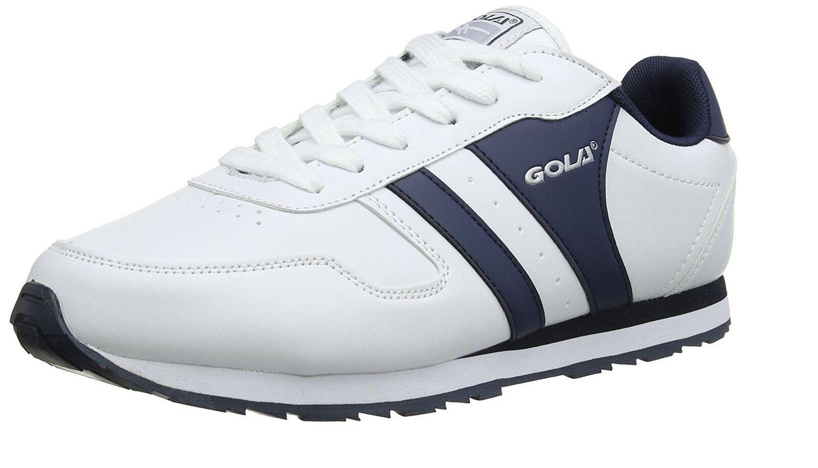 Gola Mehrzweck SPORT   Fitnessstudio   außen Turnschuhe Weiß marineblau Größen