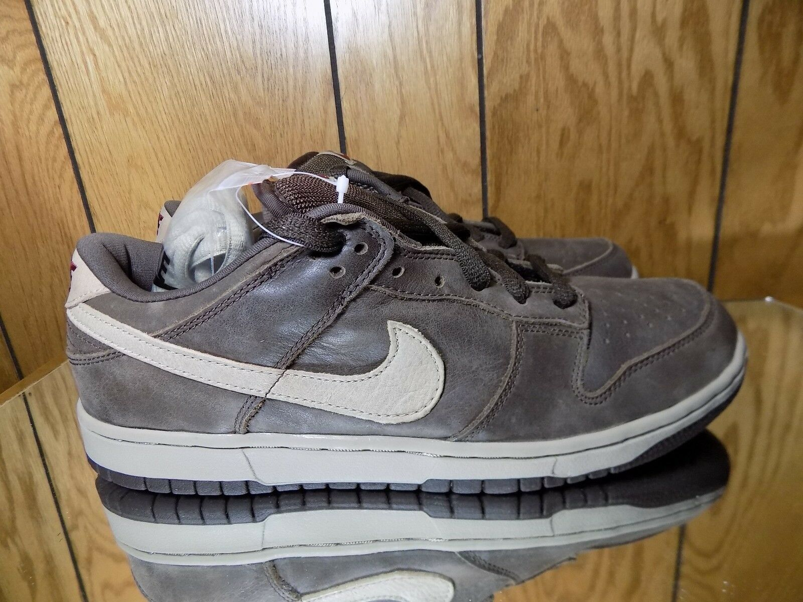 2018 Nike Dunk Low Pro SB Darm Mocha Chino Brown 304292-225 Sz 10.5 New shoes for men and women, limited time discount