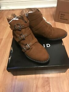 Size 9.5 Ankle Booties (wide Width