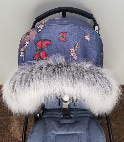 Pram Fur For Pram Hood Trim FAST DELIVERY 130 Colours Pushchairs Prams Baby