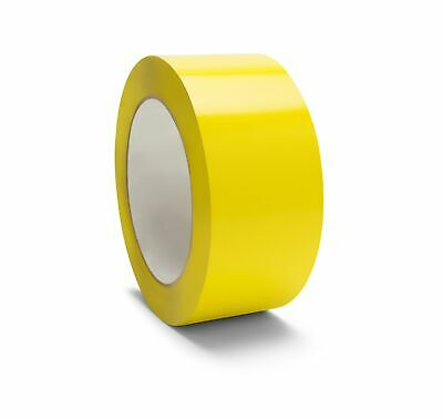 "Colored Tape 2/"" x 110 Yards 2 Mil White Color Carton Sealing Tapes 12 Rolls"