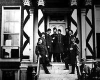 8x10 Civil War Photo: Union - Federal General Edward Ferrero & Staff