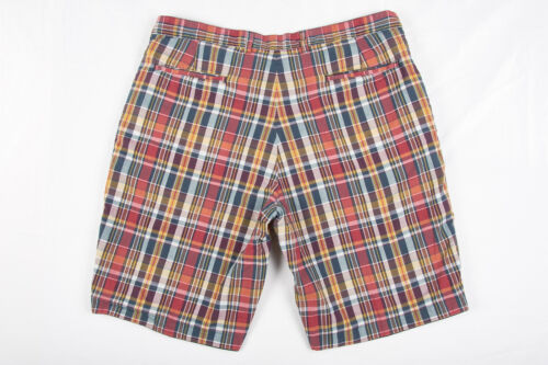 Polo Reversibile Blu Ralph Vtg 38 colorato Shorts Madras Mens Lauren Navy Plaid 4pqZvwBa5