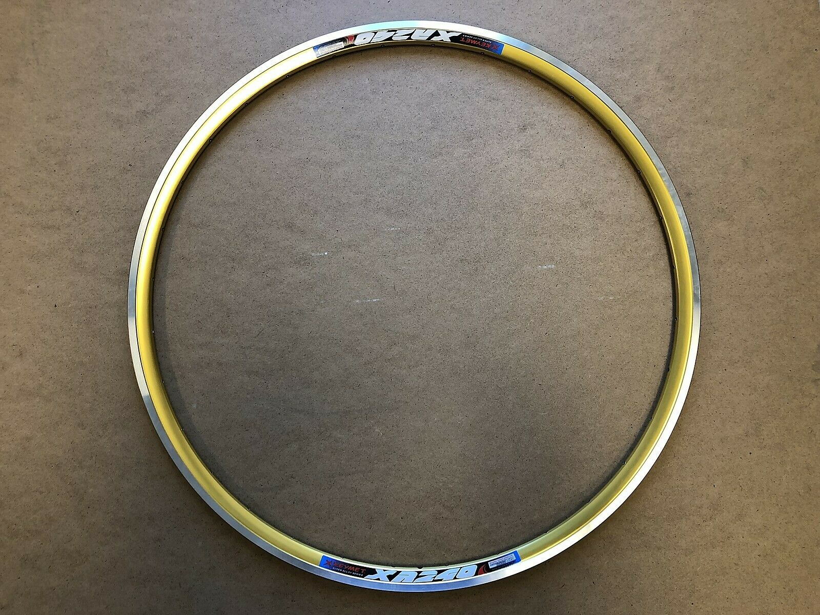 New Kinlin Rims XR-240 700C (622x13.7) 14G 32H PV  CSW Anodized gold  the best after-sale service