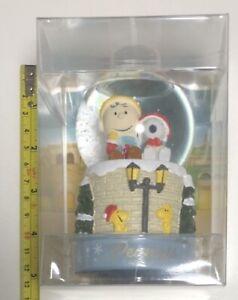 Peanuts-Snoopy-Charry-Bola-de-Nieve-Figura-Usj-Limitado-Japon-Anime-Raro