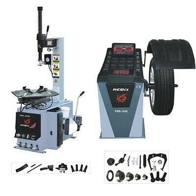 (New) Phoenix Tire Changer 2710 & Wheel Balancer 1530A Combo (Special On Sale!)
