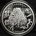 2006 Canada $50 The Four Seasons - 5 oz. fine silver coin