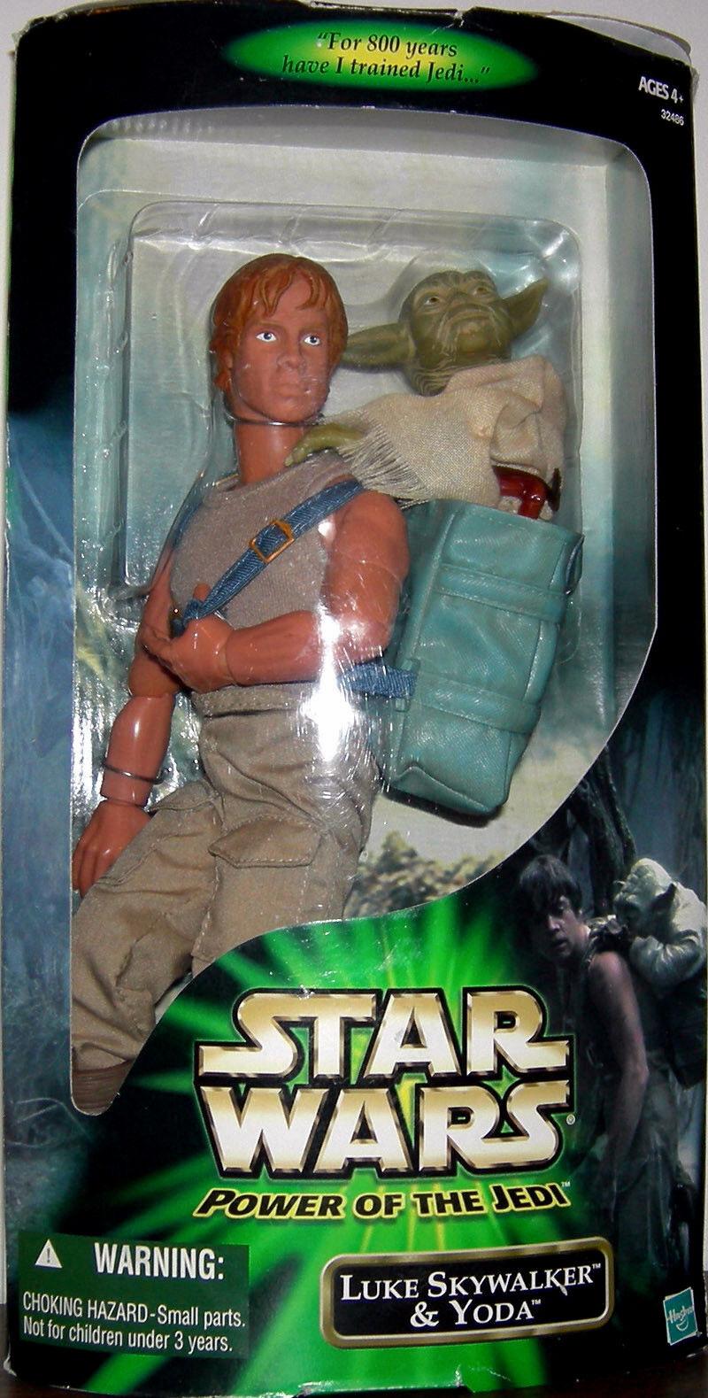 STAR WARS Power of the Jedi Collection__LUKE SKYWALKER 12