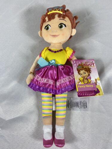 "NEW Authentic Disney Store FANCY NANCY Plush Soft Doll 14/"" NWT"