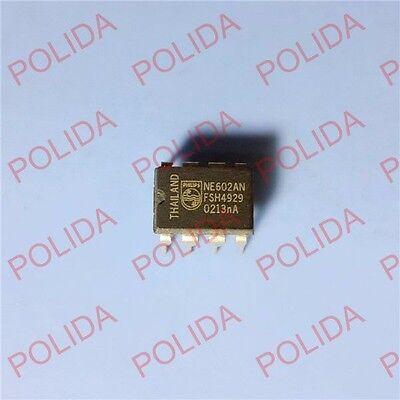 50PCS IC PHILIPS/SIGNETICS DIP-8 NE602AN NE602A