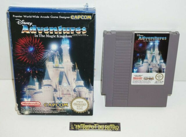 ++ jeu nintendo NES disney adventures in the magic kingdom en boite ++