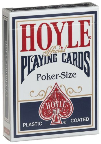 New Hoyle Official Poker Size Card Deck