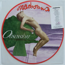 Very Rare ! Madonna Obsession Rome 1990 Erotica (12' Picture Disc )Vinyl  LP