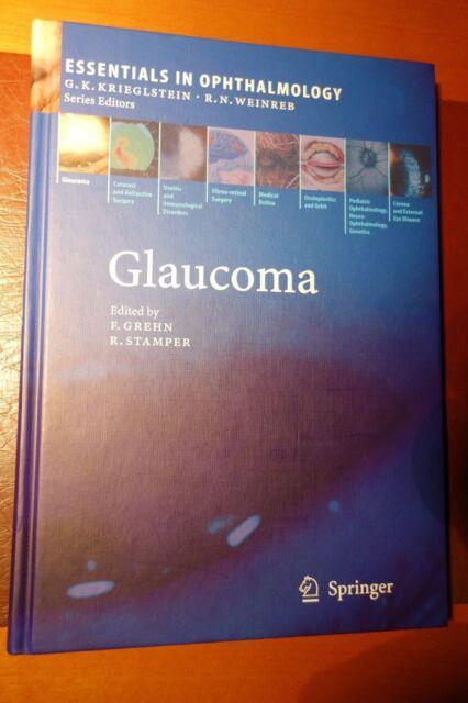 Glaucoma Ophthalmology Hardcover Augenheilkunde Glaukom Medizin Medicine
