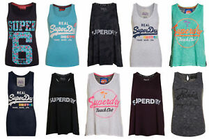 New-Womens-Superdry-Factory-Seconds-Tops-Selection-0108