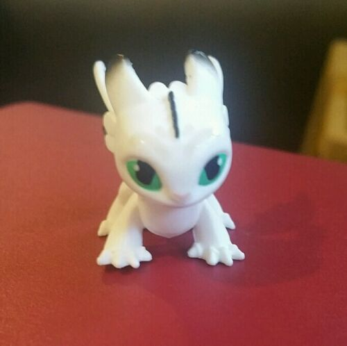 How To Train Your Dragon 3 Baby Night Light Fury White Mystery Dragon Mini