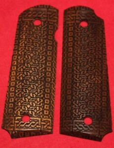 Colt Firearms Full Size 1911 Grips Celtic Knot