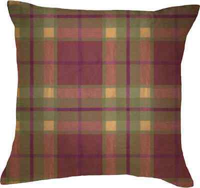 Katie Alice Highland Fling Small Tartan Scatter Cushion #5138585