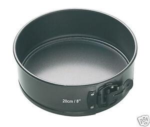 Kitchen-Craft-Non-Stick-Loose-Base-Spring-Form-Cake-Tin-4-5-034-6-034-7-034-8-034-9-034-10-034-12