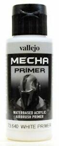 VALLEJO-PAINTS-73640-60ml-MECHA-White-Airbrush-Primer-Gundam-Gunpla-FREE-SHIP
