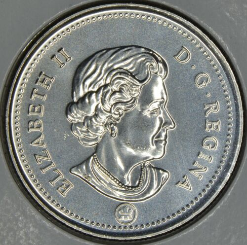 CANADA 50 CENTS 2010 Logo in MS