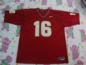 NCAA Florida State Seminoles NIKE Football  16 Jersey Men s Size XL ... d1fa98c95
