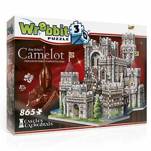 Camelot, King Artus Castle / Burg, 3-D Puzzle, 865 Teile ...