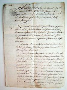 Acte Notarie Ancien Echange De Terrains Saone Et Loire Date