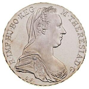 1780 SF Austria Thaler Proof Silver Coin KM T1
