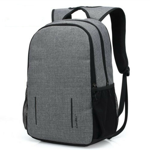 Waterproof Anti-Theft Computer Bag Pack Travel Laptop Backpack Rucksack USB Port