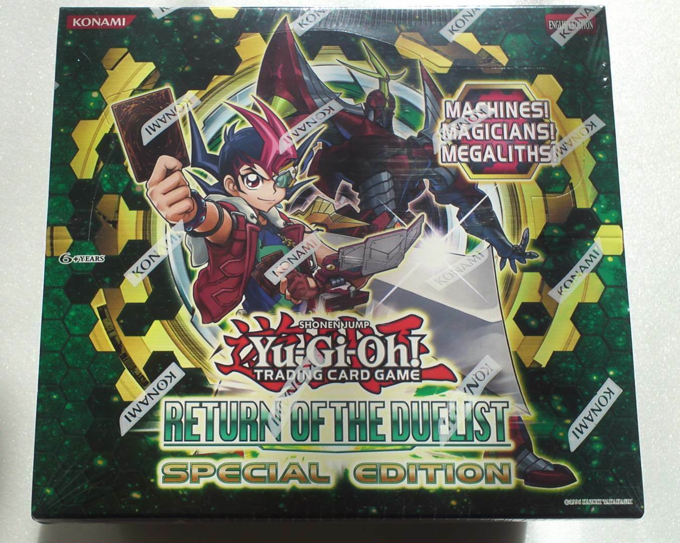 Yu-Gi-Oh  Return of the Duelist Special Edition (English), 1 BOX Factory Sealed