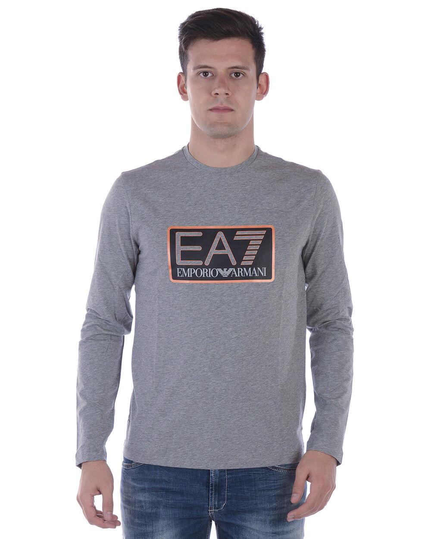 T hemd Maglietta Emporio Armani Ea7 schweißhemd herren grau 6ZPT58PJ03Z 3905