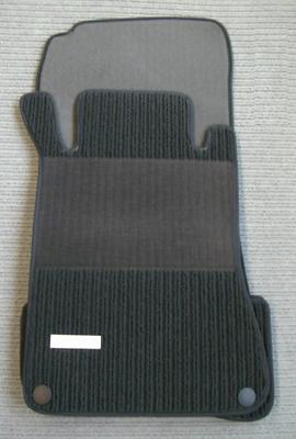 NEU $$$ BLAU $$$ Rips Fußmatten passend für Mercedes Benz CLK W209 C209 A209