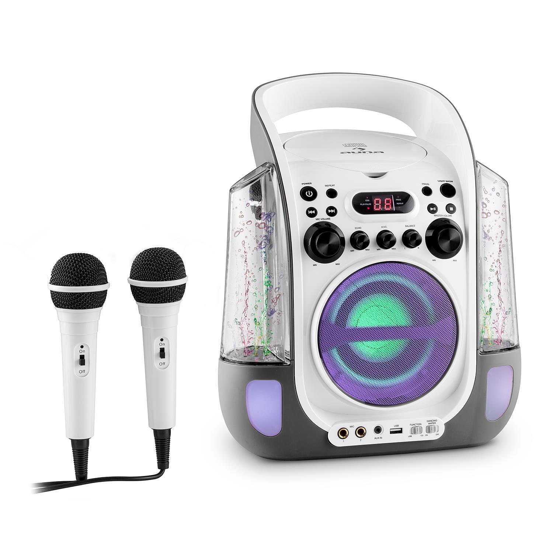 (B-WARE) MOBIL KARAOKE SYSTEM MUSIK ANLAGE PARTY KINDER WASSERFONTÄNE CD USB MP3