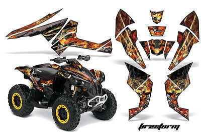 ATV Decal Graphics Kit Quad Wrap For Can-Am Renegade 500 X/R 800X/R 1000 FSTRM K