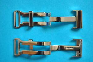 Cierre-Desplegable-Para-Breitling-CORREAS-DE-CUERO-18mm-20mm-ACERO-INOXIDABLE