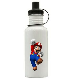 Personalized Super Mario Water Bottle Gift Add Name
