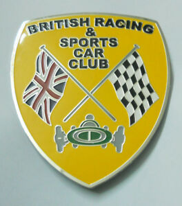 Car-Badge-British-Racing-amp-sports-car-club-grill-badge-emblem-logos-metal-enamle