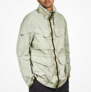 Nike Tech Pack M65 Jacket Acg Lab Field Veste Top Size M Fleece Aeroloft New