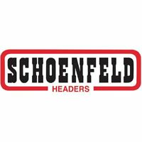 Schoenfeld 0104 Steel Header Flange D-port Shape 1.75