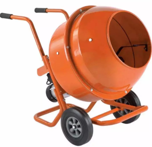 120 Liter Concrete Mixer ( pour in cement like a wheelbarrow )